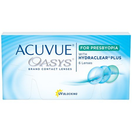 ACUVUE OASYS for PRESBYOPIA contacts