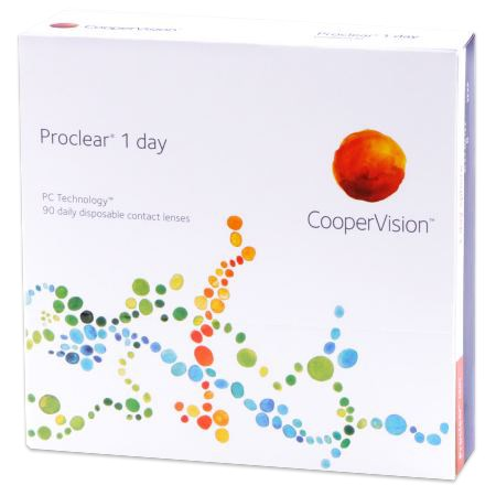 Proclear 1 day 90pk contacts