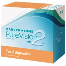 PureVision2 Toric For Astigmatism contact lenses