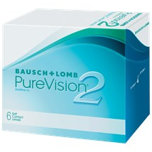 PureVision2 contact lenses
